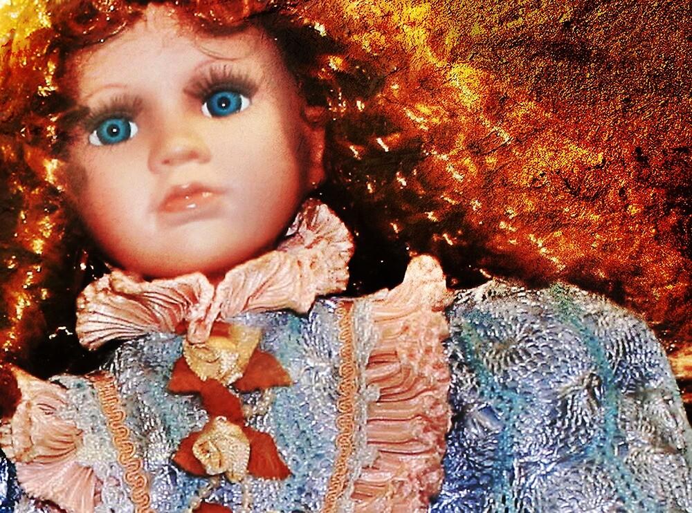 Doll in Blue by Nadya Johnson