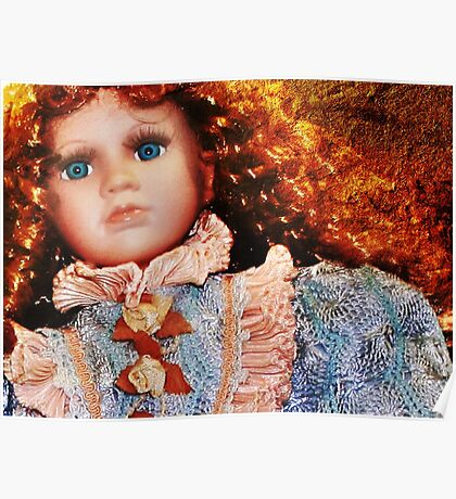 Doll in Blue Poster