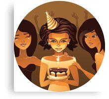 birthdays party Canvas Print