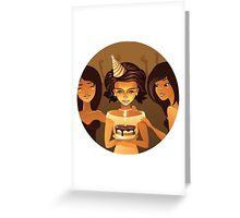 birthdays party Greeting Card