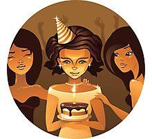 birthdays party Photographic Print