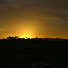 Sky on fire - A queensland sundown by Jason Kiely