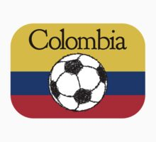 Colombia Football Kids Clothes