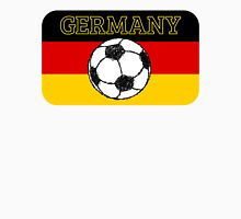 German Flag with Football Unisex T-Shirt