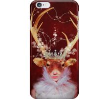red princess iPhone Case/Skin