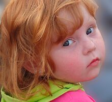 Little Redheaded Girl by vigor