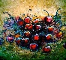 "Cherries...""Chillin"" by © Janis Zroback"