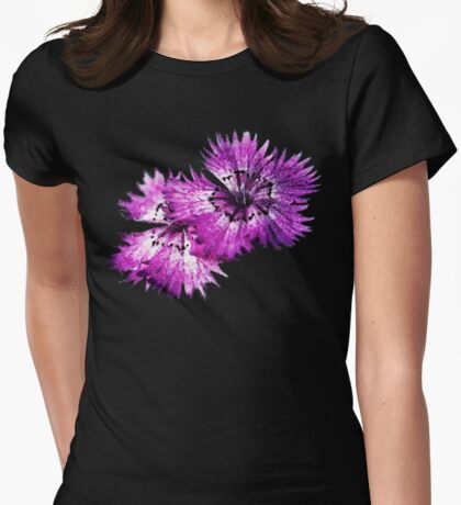 Dianthus (T-Shirt), dark, watercolor effect T-Shirt