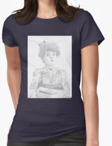 The Tattooed Lady (Maud Wagner) Womens Fitted T-Shirt