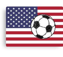 USA football Canvas Print