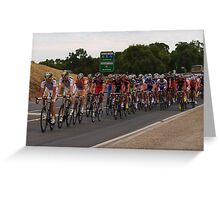 Tour Down Under Greeting Card