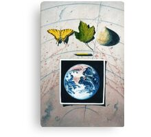 Mother and Children Canvas Print