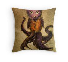 Octo-Owl Throw Pillow