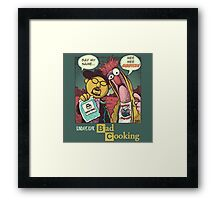 Bad Cooking Framed Print