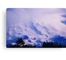 Lavender Rainier Canvas Print