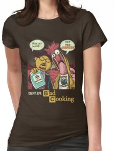 Bad Cooking Womens Fitted T-Shirt