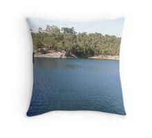 Mundaring Weir; quite a popoular tourist attraction in Perth. Throw Pillow