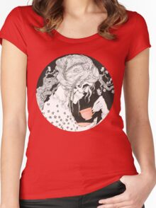 Tea time for the Dead Women's Fitted Scoop T-Shirt
