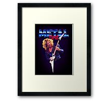 Metal Time Framed Print