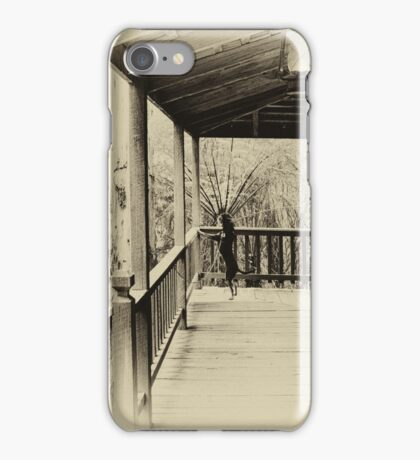 His masters voice iPhone Case/Skin