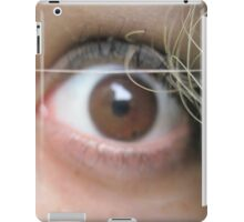 Shocked eyes of ember iPad Case/Skin
