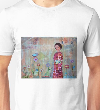 Women in the Garden  Unisex T-Shirt