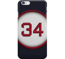 34 - Big Papi (alt version) iPhone Case/Skin