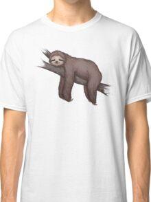 Sleepy Sloth Classic T-Shirt