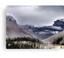 Mountains in the Mist Canvas Print