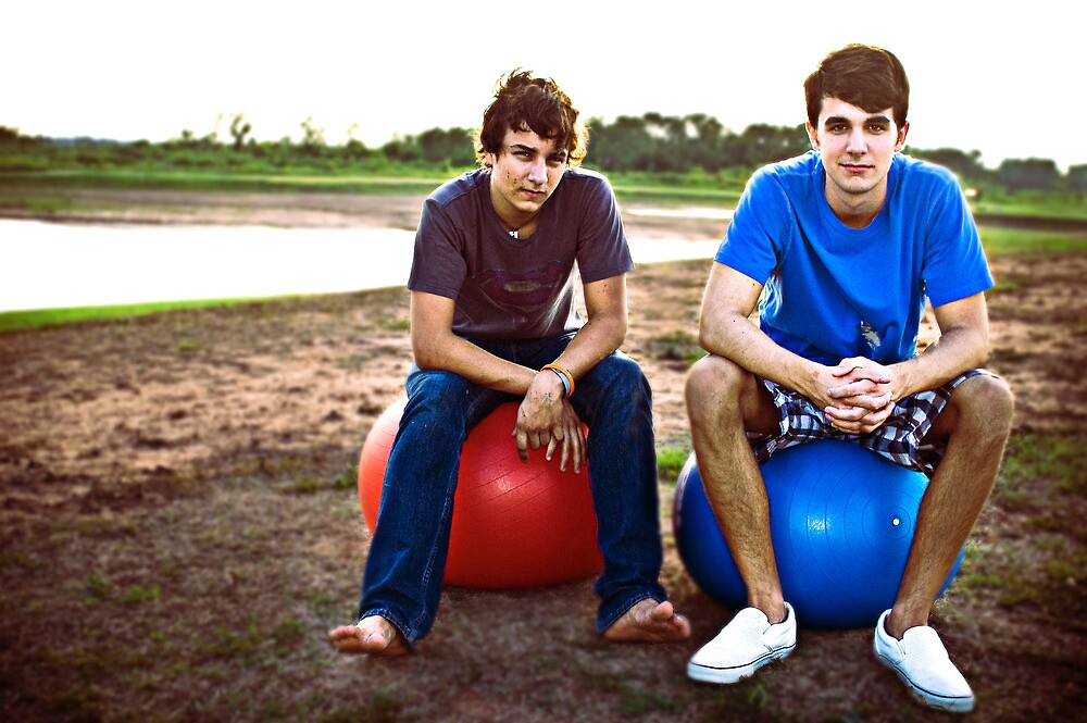 Yoga balls, aren't just for yoga by James Holbrook