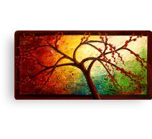 The Tree of Beauty Canvas Print