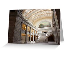 Utah State Capital.  Greeting Card