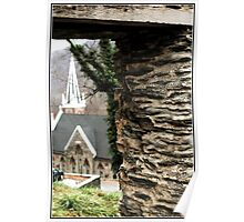 Harpers Ferry, West Virginia, ruins Poster