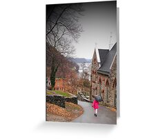 Rainy Day in Harpers Ferry Greeting Card