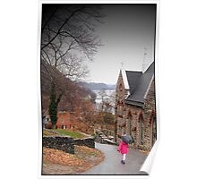 Rainy Day in Harpers Ferry Poster