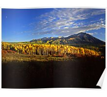 West Beckwith Mountain Poster