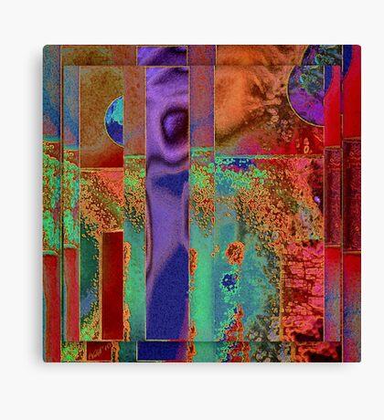 Faux-Rust Canvas Print