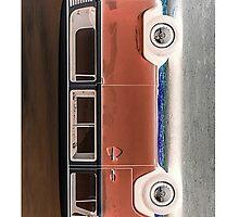 VW Kombi iPhone Case by ultimatekombi