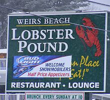 Weirs Beach Lobster Pound by JBTHEMILKER