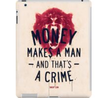 A CRIME (VARIANT) iPad Case/Skin