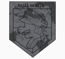 Wall Mario Kids Tee