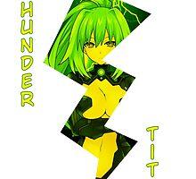 "THUNDER TITS by Vitor ""[Vitz!]"" Cunha"