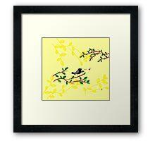 Singing Blackbird Framed Print