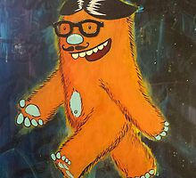 Monsters: Hipster 'Squatch by Jason Castillo