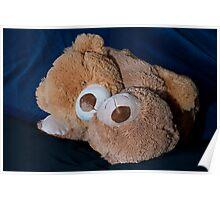 Hugging Snuggle Bears Poster