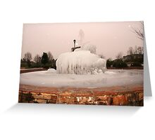 ~Frozen Fountain~ Greeting Card