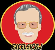 EXCELSIOR- STAN LEE by LucyHollyhock