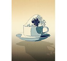 Storm in a Teacup - Tsea-nami! Photographic Print