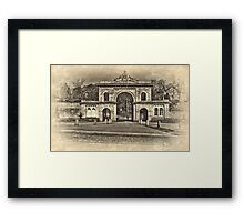 Corporation Park Framed Print
