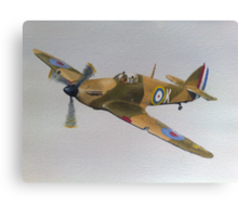 Hawker Hurricane - WWII Fighter Plane Canvas Print
